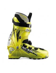 Chaussures de ski de Randonnée Scarpa Alien Yellow Fluo Taille 27 Mondopoint Accueil
