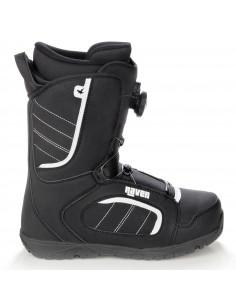 Boots de Snow Neuves Raven Target Atop Boa 2021 Taille de 23.5 à 31 Mondopoint Accueil