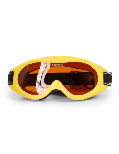 Masque de ski Baby Alpina Carvy Yellow S2 Tout temps Accueil