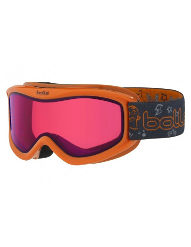 Masque de ski Neuf Bollé AMP Orange Monster Junior Catégorie 3 Home