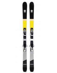 Ski Test Rossignol Sprayer 2019 + Fix Look Xpress 10 Taille 138cm, 148cm Accueil