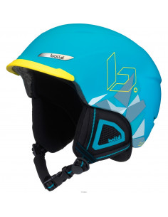 Casque de Ski Bollé Beat Matte Blue Mountain 54/58cm, 58/61cm, 61/63cm Réglable Home