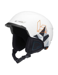 Casque de Ski Bollé Beat Matte White Mountain 54/58cm, 58/61cm, 61/63cm Réglable Home