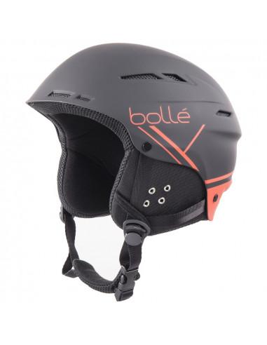 Casque de Ski Bollé B Fun Soft Black RedTaille 54/58cm Réglable Accueil
