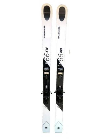 Ski Test Kastle MX99 Taille 176cm, 184cm + Fix Home