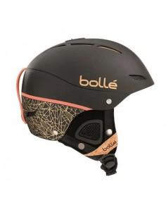 Casque de ski Bolle Juliet Black Rose Gold Taille 52/54cm, 54/58cm Réglable Accueil