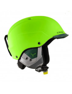 Casque de ski Cébé Contest Visor Lime and Green Taille 55/58cm, 58/62cm, 62/64cm réglable Home