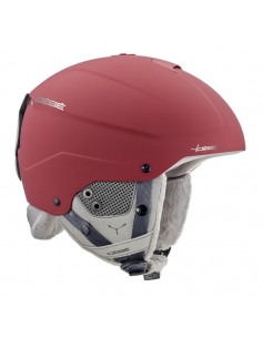 Casque de ski Cebe Element Matt Red Chrome Taille 59/61cm Home