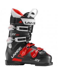 Chaussures de ski Neuves Lange RX 100 Black Red 2019 Taille 24.5 Mondopoint Home
