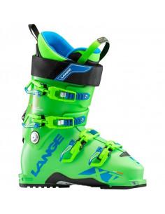 Chaussures de ski JR/ADO Lange XT80 SC Free Acid Green 2019 Taille 24.5 Mondopoint Home