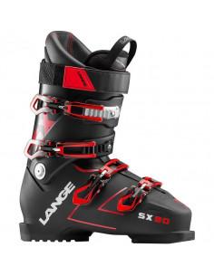 Chaussures de ski Neuves Lange SX 90 Black Red 2019 Taille 26.5 Home