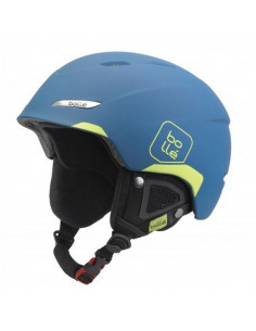 Casque de Ski Neuf Bollé B-Yond Soft Blue and Lime Taille 54/58cm, 58/61cm, 61/63cm Home