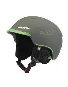 Casque de Ski Neuf Bollé Beat Soft Khaki and Green Taille 61cm/63cm Réglable Accueil