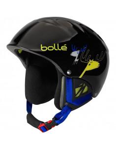 Casque de Ski Bollé B-Kid Black Caribou à Molette Taille 49/53cm Home