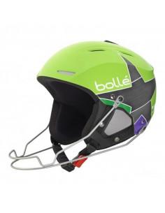 Casque de Ski Bollé Backline Racing Shiny Green Star Taille 54/56cm Home
