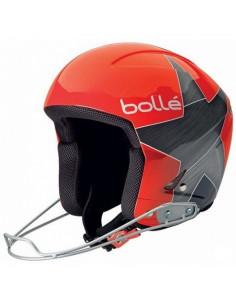 Casque de Ski Bollé Podium Shiny Red Star FIS Taille 56cm, 58cm Home