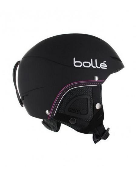 Casque de ski Bolle Juliet Soft Black Nordic Taille 52/54cm Réglable Home