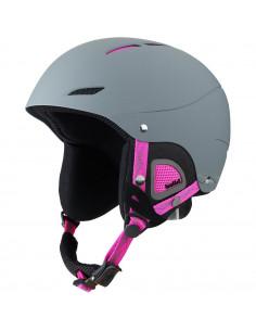 Casque de ski Bolle Juliet Soft Grey and Pink Taille 52/54cm Réglable Home