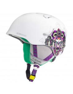 Casque de Ski Cebe Suspense Deluxe Matte White Taille 52/54cm, 56/58cm Home