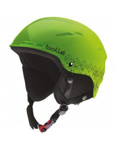 Casque de ski Enfant Bolle B-Rent Shiny Green Black Taille 52/54cm Home
