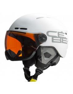 Casque de ski Neuf Cébé Fireball White à visière Catégorie 2 Taille 58/62cm Accueil
