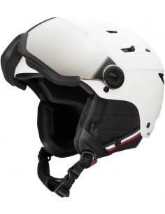 Casque de ski Neuf Rossignol Allspeed Visor Impact Strato White 2021 Taille M, L, XL, XXL Accueil