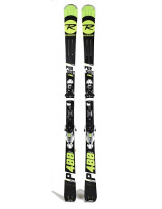 Ski Occasion Rossignol Pursuit 400Carbon 2019 + Fix Look NX12 Konect Taille 149cm Accueil