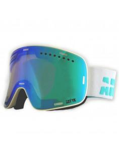 Masque de ski Magnétique ARTYK 2 verres S1 + S3 White Blue Accueil