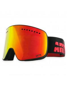 Masque de ski Magnétique ARTYK 2 verres S1 + S3 Black Red Accueil