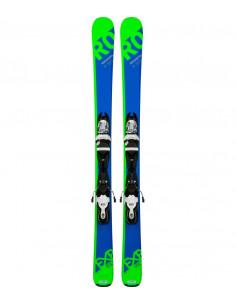 Pack Ski Junior Rossignol Experience Pro 2018 + Fix Look Kid Taille 128cm Accueil