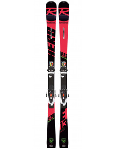 Pack Neuf Rossignol Hero Elite ST Ti 2020 + Fix Look NX12 Konect Taille 157cm Home