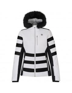 Veste de Ski Femme Dare 2B Snowglow White 2020 Taille S, M, XL Home
