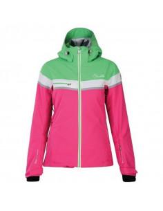 Veste de Ski Femme Neuve Dare 2B Premiss Cyber Pink Green Taille XXS Home