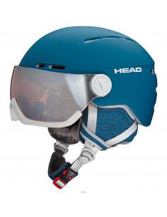 Casque de ski Head Queen Petrol Taille 52/55cm, 56/59cm Accueil