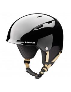 Casque de ski Head Ten SR IS Black Taille 54/55cm Accueil
