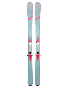 Ski Test Rossignol Experience 80 Ci W 2019 + Fix Look Xpress 11 B83 Taille 142cm Accueil