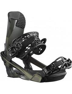 Fixations de snowboard Salomon Alibi Pro Dark Olive Taille S(35-39), M(39/43) Accueil