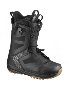 Boots de Snow Neuves Salomon Dialogue Black/Gray 2020 Taille 30(45.5), 30.5(46) Accueil