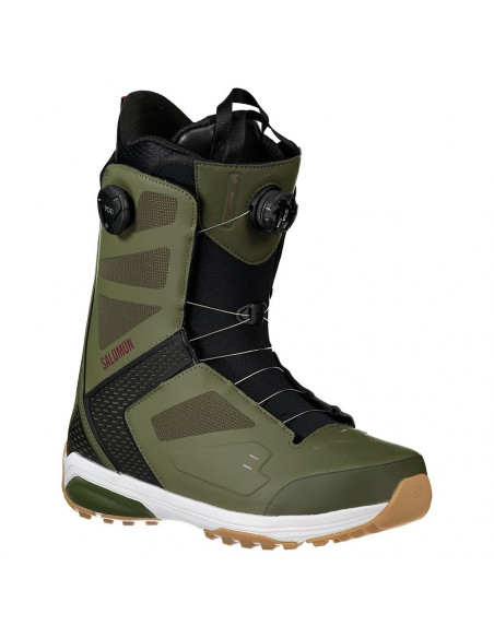 Boots de Snow Neuves Salomon Dialogue Focus Boa Dark Olive 2020 Taille 29.5(44.5) Home