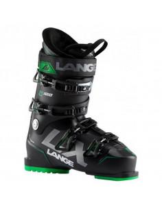 Chaussures de ski Neuves Lange LX100 Black Deep Blue Green 2020 Taille 28, 29, 29.5 Mondopoint Accueil