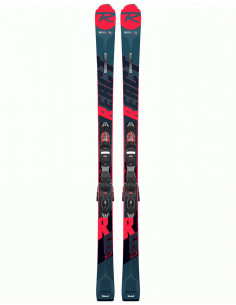 Rossignol React R6 Compact 2020 +Fix Look Xpress11 Taille 149cm, 163cm, 170cm, 177cm Home
