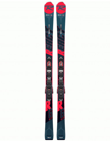 Rossignol React R6 Compact 2020 +Fix Look Xpress11 Taille 156cm Accueil