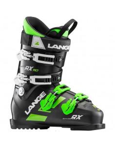 Chaussures de ski Neuves Lange RX 110 Black Green 2019 Taille de 26.5 à 29 Mondopoint Home