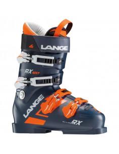 Chaussures de ski Neuves Lange RX 120 Dark Blue Orange Taille 28.5, 29.5 Mondopoint 2019 Accueil