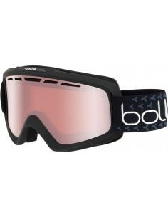 Masque de ski Bollé Nova II Matte Black White S2 Vermillon Gun Accueil