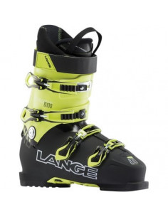 Chaussures de ski Neuves Lange XC 100 Black Yellow 2019 Taille de 27 à 31 Mondopoint Home
