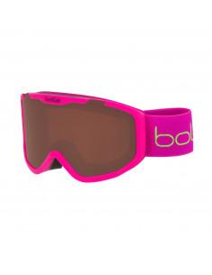 Masque de ski Neuf Bollé Rocket Matt Pink Bear Junior Catégorie 2 tout temps Accueil