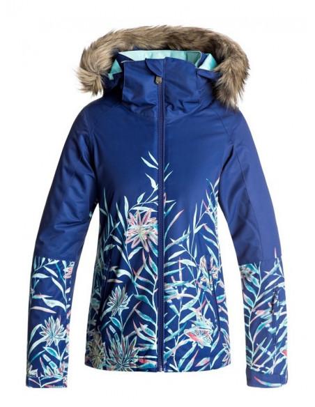 Veste de Ski Roxy Jet Ski Se Blue Taille 16ans Equipements