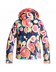 Veste de Ski Roxy Jetty Girl Fruit Of The Moon Taille 12ans, 14ans Equipements
