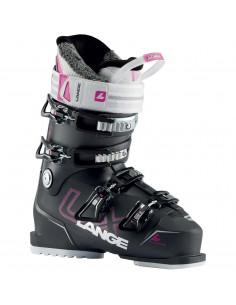 Chaussures de ski Neuves Lange LX80 W Anthracite Magenta 2021 Taille de 23.5 à 26.5 Mondopoint Home